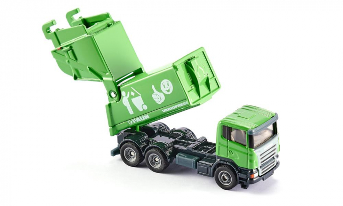 Jucarie macheta camion de recoltat gunoiul, Siku [1]