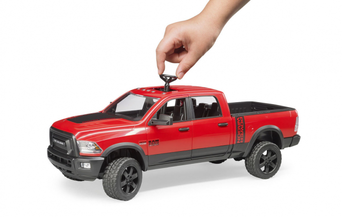 Jucarie camioneta off-road RAM Power Wagon, Bruder 3