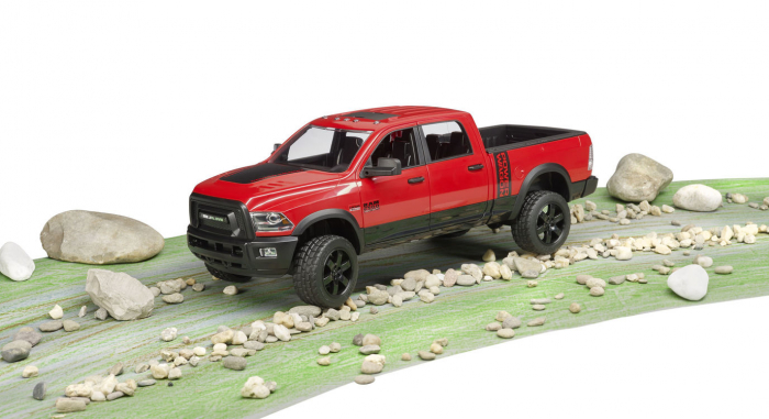 Jucarie camioneta off-road RAM Power Wagon, Bruder 4