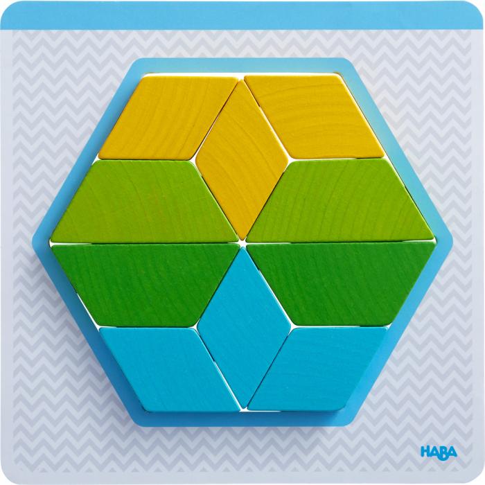 Joc creativitate forme colorate, Haba 4