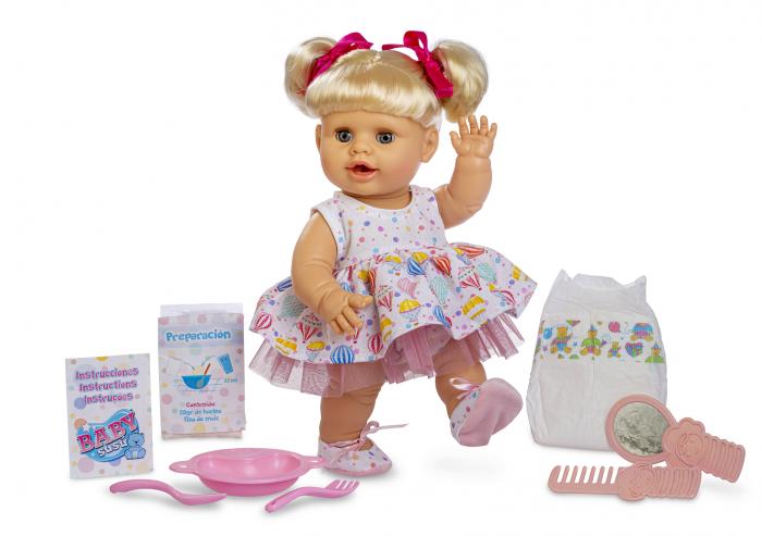 Bebelus fetita surioara Lara handmade, colectia Susu, Berjuan luxury dolls [0]