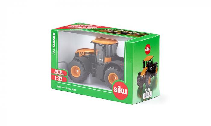 Jucarie macheta tractor JCB Fastrack 4000, Siku [4]