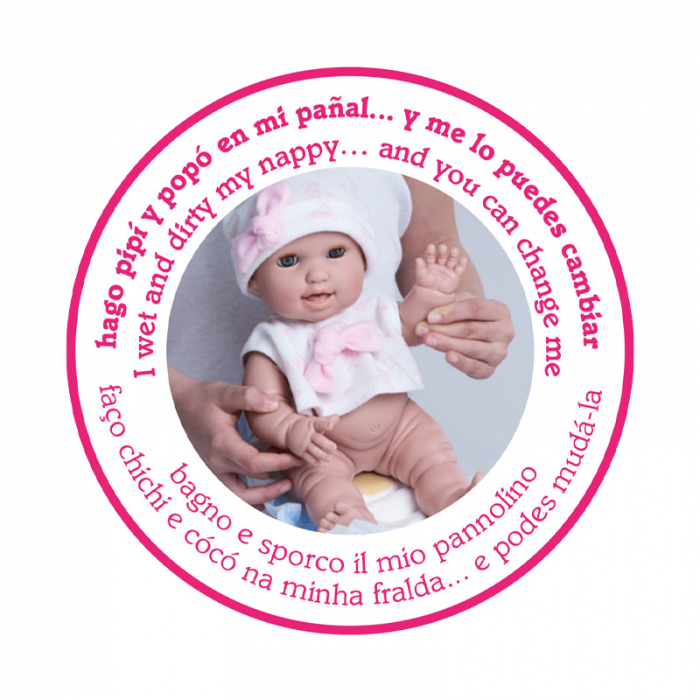 Bebelus fetita Rosa handmade, colectia Susu, Berjuan luxury dolls 7