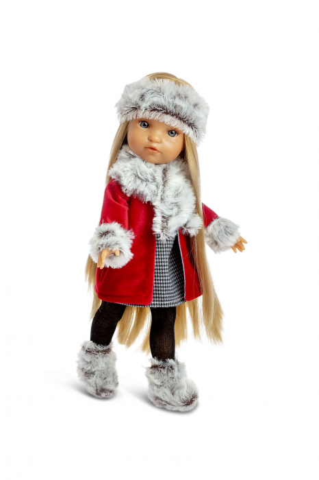Papusa Anya Morena Trenzas, colectia My Girl, Berjuan luxury dolls [0]