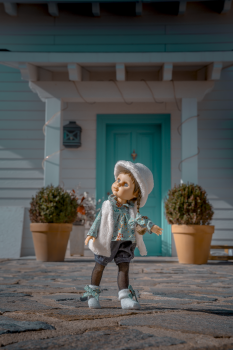 Papusa handmade AnisiaTrenzas, colectia My Girl, Berjuan luxury dolls [1]
