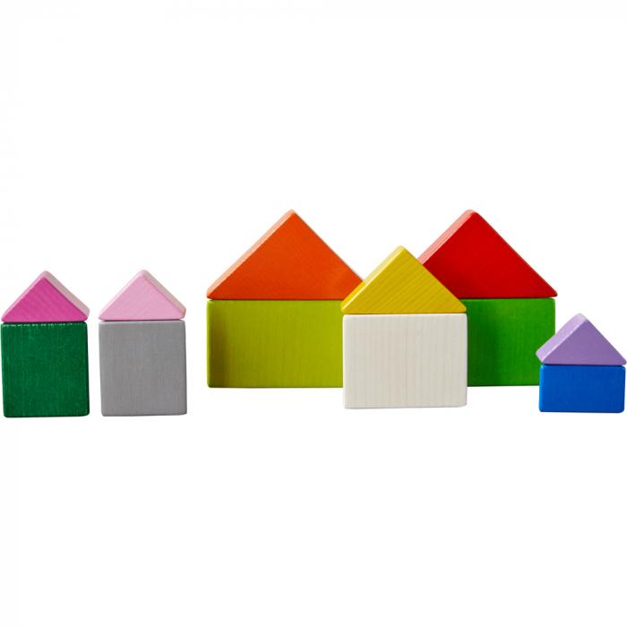 Joc 3D creativitate cub tangram, Haba 8
