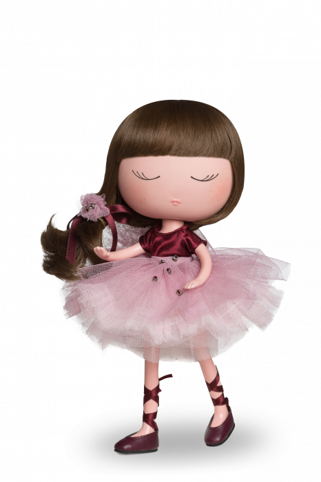 Papusa Anekke, colectia Ballerina, Berjuan handmade luxury dolls [0]