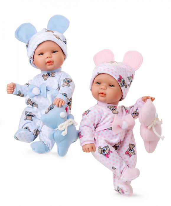 Papusa bebe fetita Rosalinda, colectia Boutique, Berjuan handmade luxury dolls 2