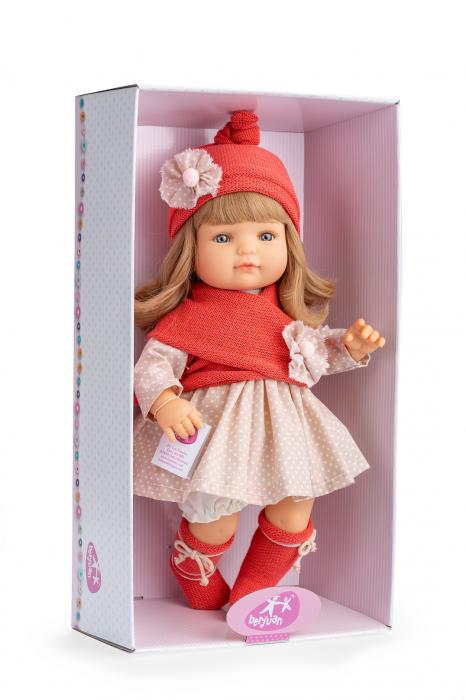 Papusa fetita  Claudia, colectia Boutique, Berjuan handmade luxury dolls 2