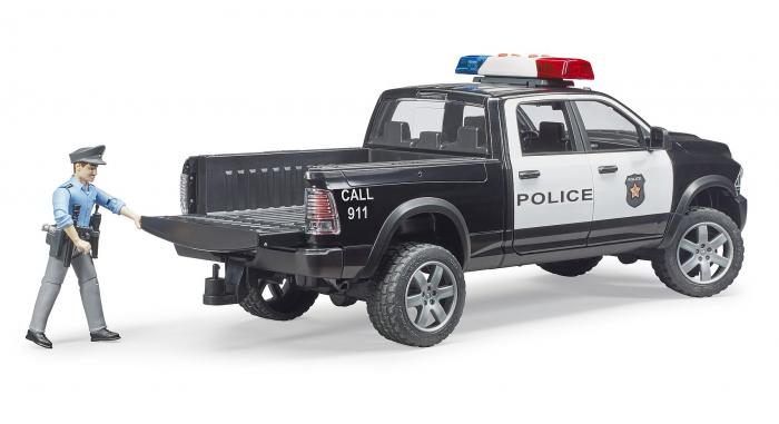 Jucărie mașina de politie cu modul de lumini și sunet 2