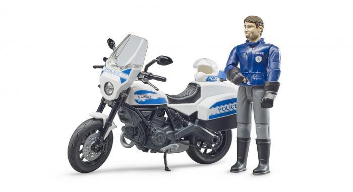 Jucarie motocicleta de politie 1