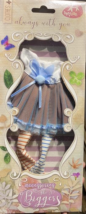 Articole vestimentare rochita funky, colectia The Biggers,Berjuan handmade luxury dolls 0