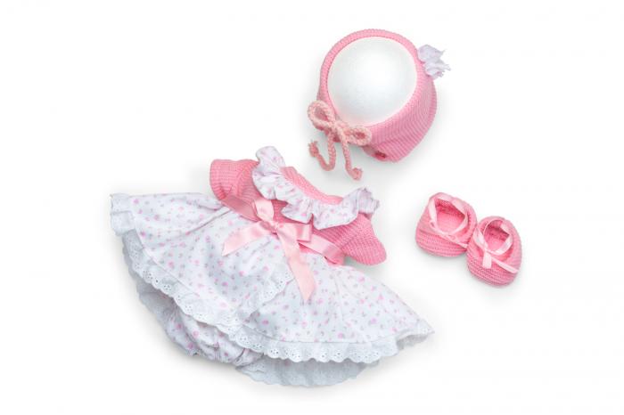 Articole vestimentare rochita  bebe fetita, colectia Susu,Berjuan handmade luxury dolls 0