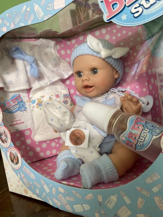 Bebelus baietel Azul, colectia Susu, Berjuan handmade luxury dolls 3