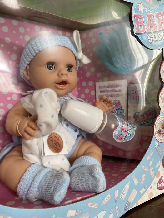 Bebelus baietel Azul, colectia Susu, Berjuan handmade luxury dolls 2