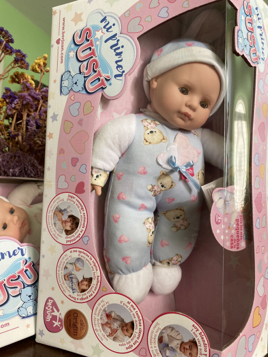 Bebelus baietel, colectia Susu, Berjuan handmade luxury dolls [3]