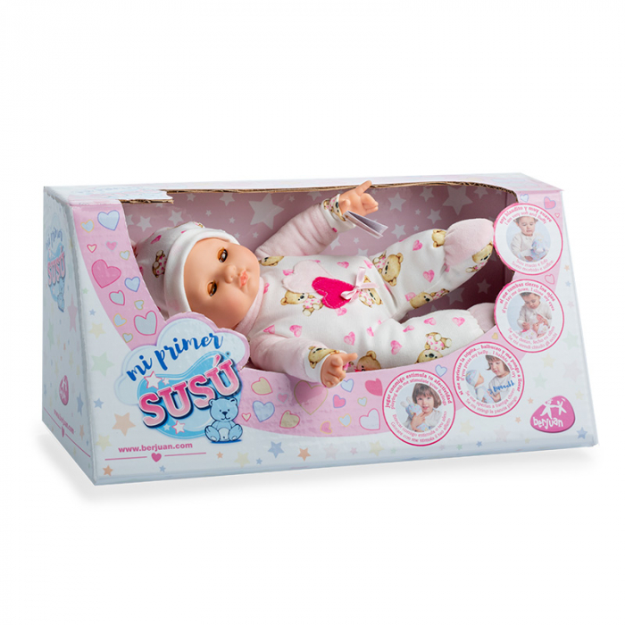 Bebelus fetita, colectia Susu, Berjuan handmade luxury dolls 1