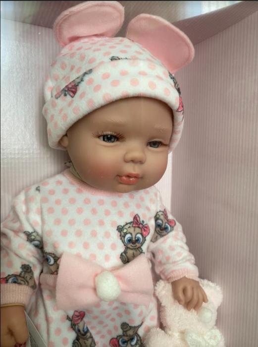 Papusa bebe fetita Rosalinda, colectia Boutique, Berjuan handmade luxury dolls 0