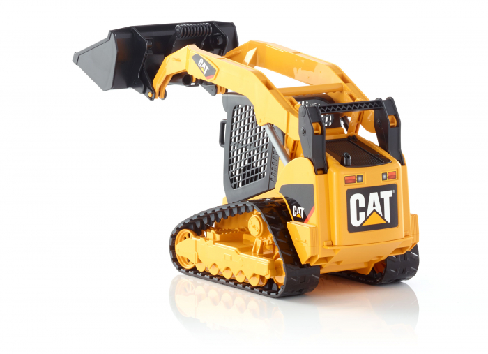 Jucarie Buldo CAT Multi terrain cu incarcator frontal Bruder 3