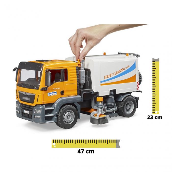 Jucarie camion curatare stradala MAN TGS. Bruder [0]