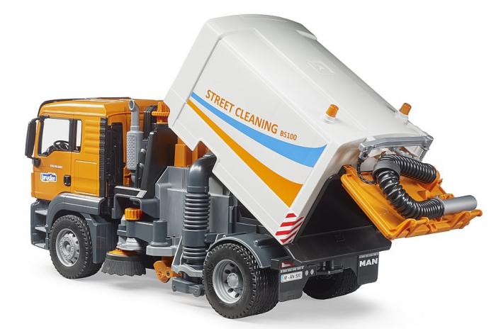 Jucarie camion curatare stradala MAN TGS. Bruder 2