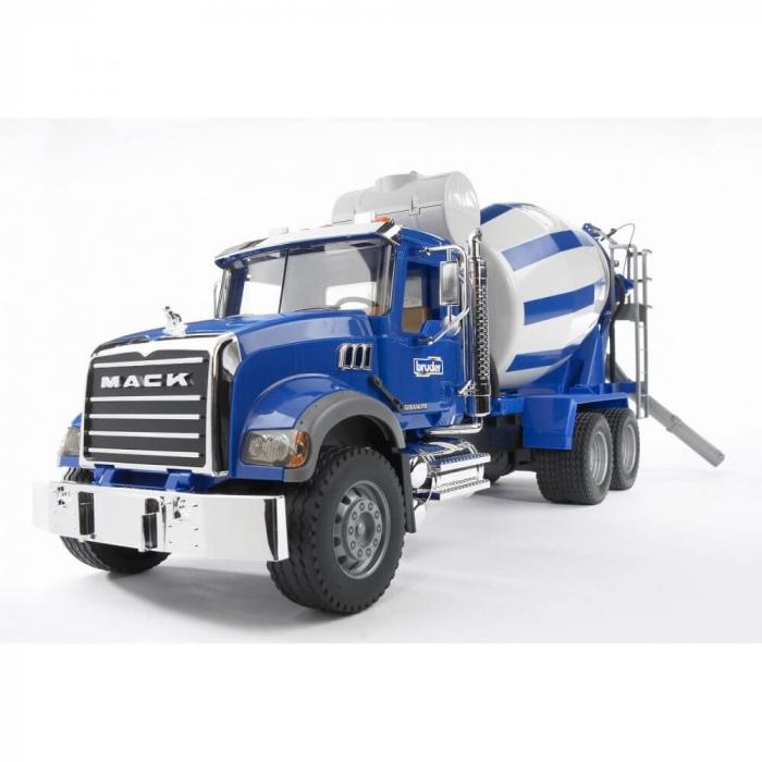 Jucarie tip camion Mack Granite betoniera, Bruder 0