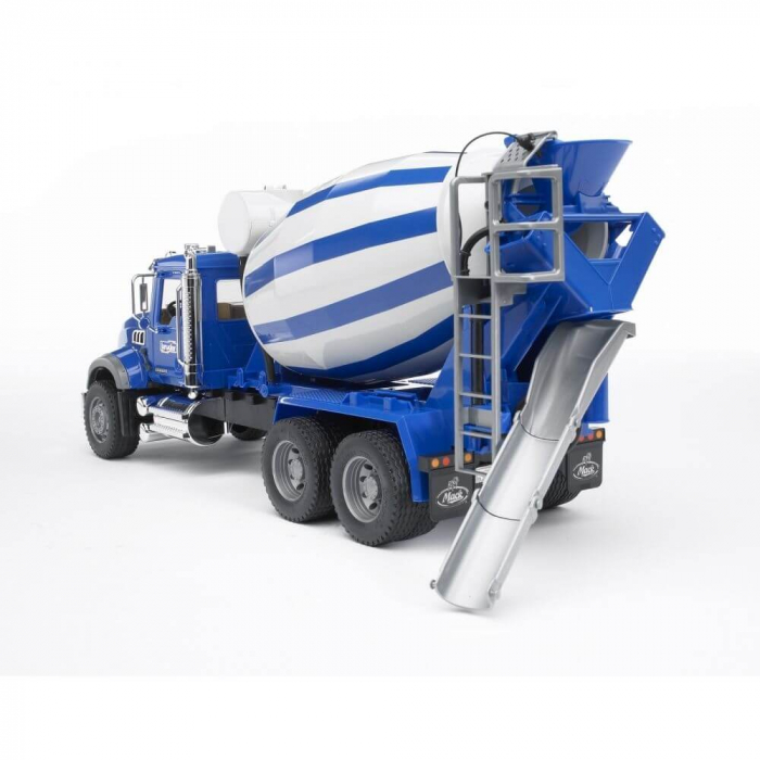 Jucarie tip camion Mack Granite betoniera, Bruder 1