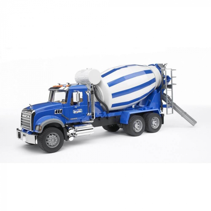 Jucarie tip camion Mack Granite betoniera, Bruder 3