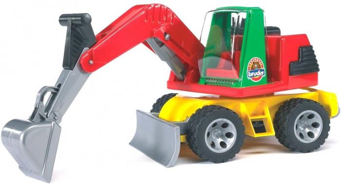 Jucarie excavator cu lama plug Roadmax. 1