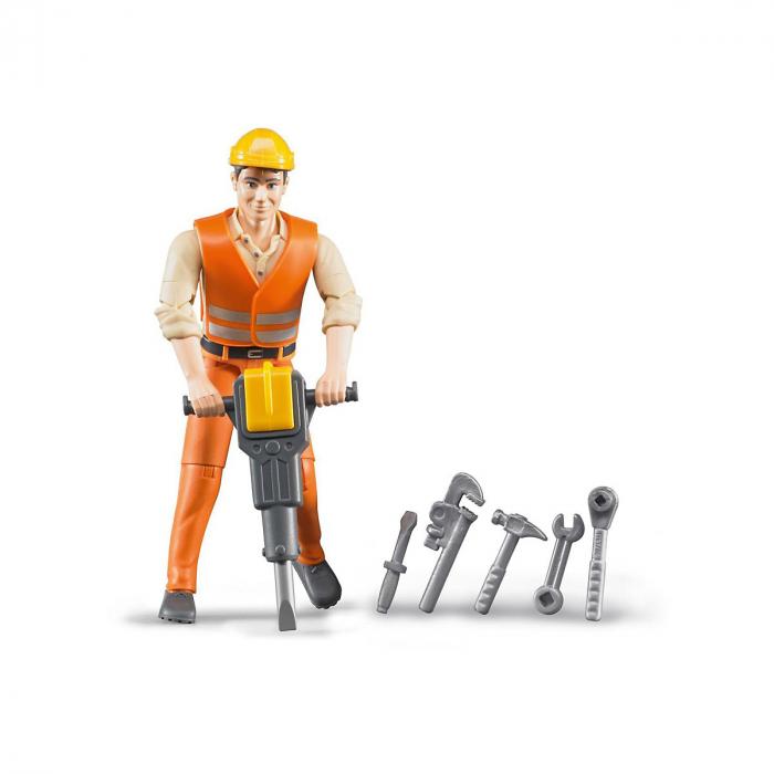 Figurina constructor cu accesorii Bruder [0]