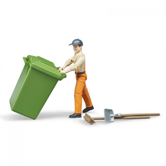 Figurina om de serviciu cu accesorii Bruder 1
