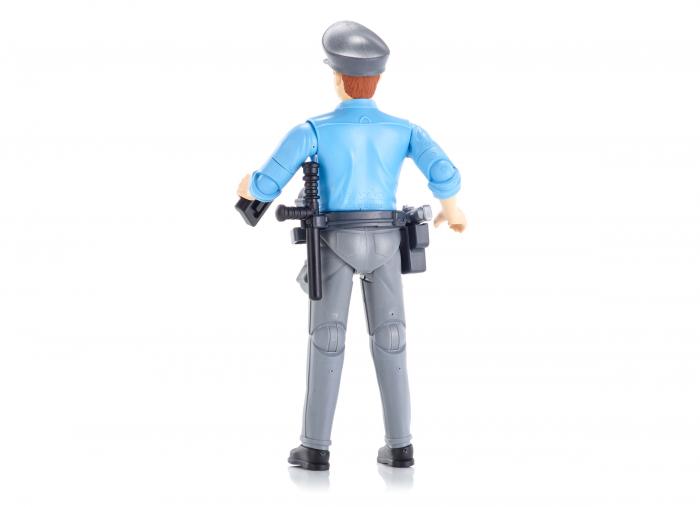 Figurina politist, cu accesorii - inaltime 10,7 cm 2