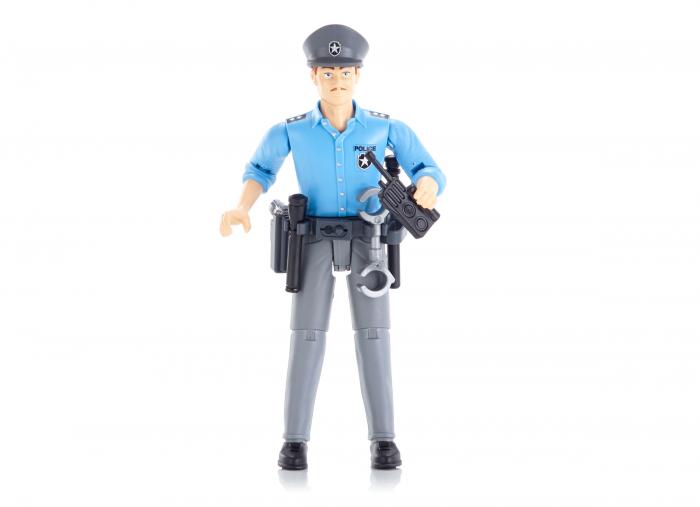 Figurina politist, cu accesorii - inaltime 10,7 cm 0