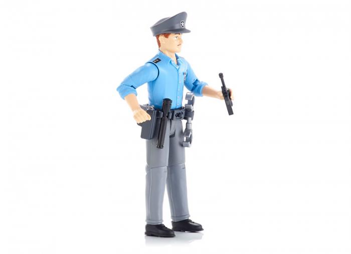 Figurina politist, cu accesorii - inaltime 10,7 cm 1