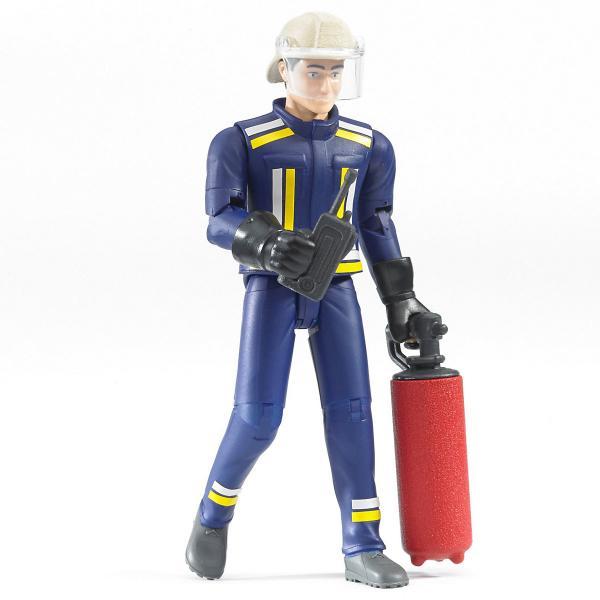 Figurina pompier cu accesorii Bruder 0