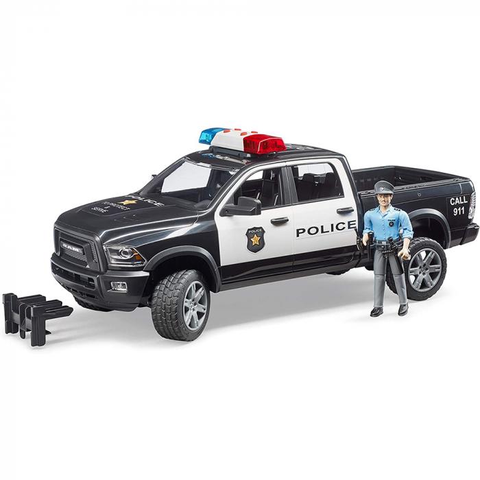 Jucărie mașina de politie cu modul de lumini și sunet [1]