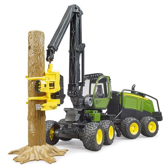 Jucarie tractor forestier John Deere 1270G, Bruder 2