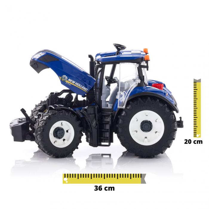 Jucarie Tractor albastru New Holland Bruder [0]