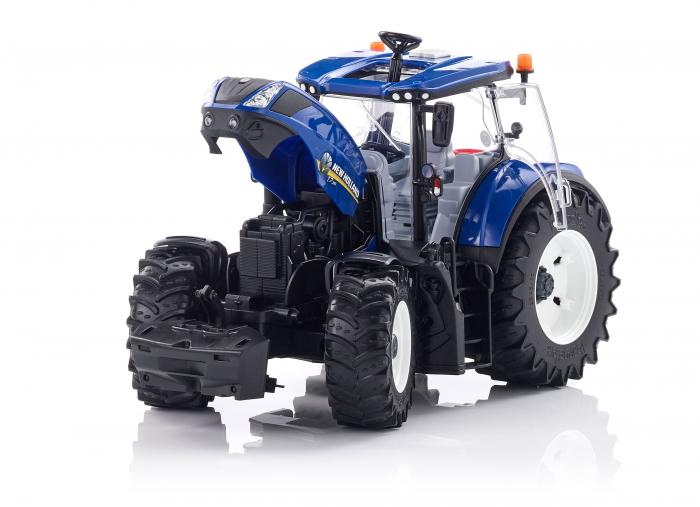 Jucarie Tractor albastru New Holland Bruder 0