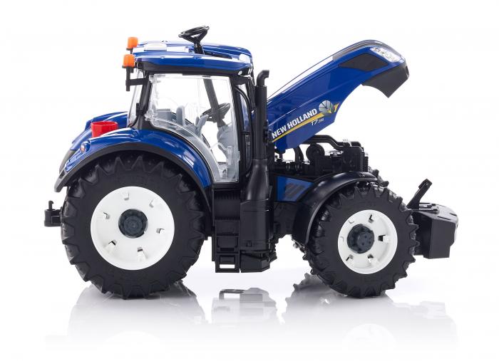 Jucarie Tractor albastru New Holland Bruder 1