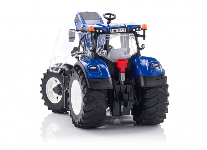 Jucarie Tractor albastru New Holland Bruder 3