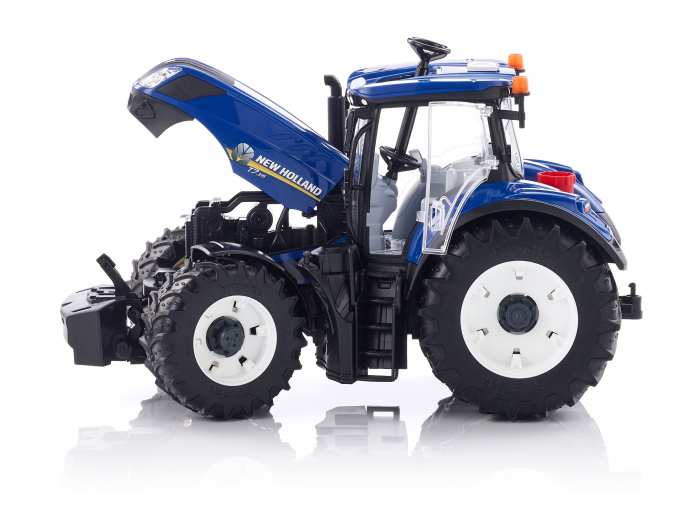 Jucarie Tractor albastru New Holland Bruder 2