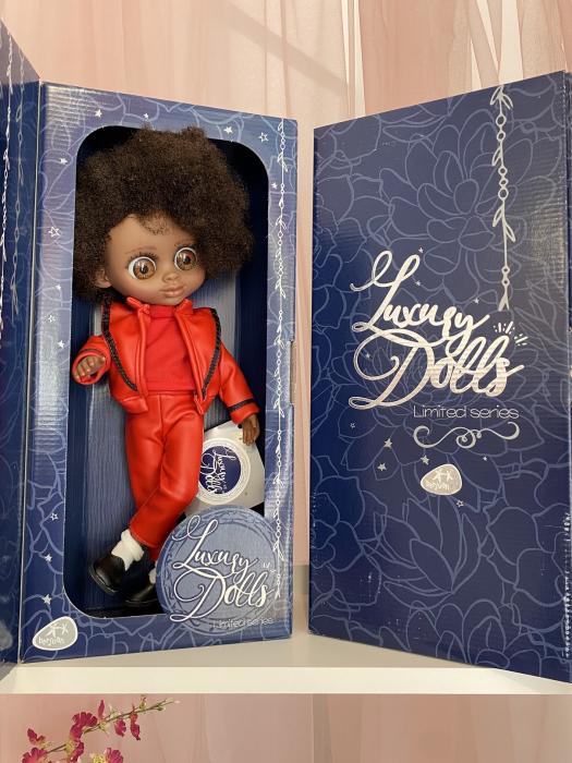 Papusa Michael editie Limitata Deluxe, colectia The Biggers, Berjuan, handmade luxury dolls [3]