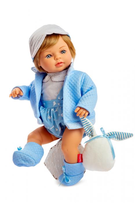 Papusa baiat Mateo, colectia Trousseau Collete, Berjuan handmade luxury dolls 0