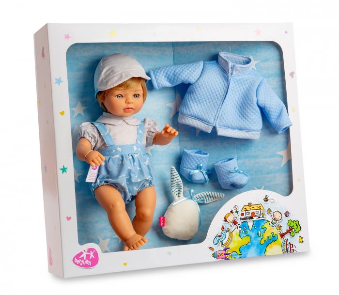 Papusa baiat Mateo, colectia Trousseau Collete, Berjuan handmade luxury dolls 1