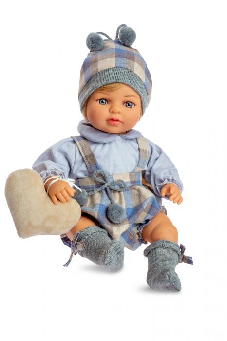 Papusa baiat Nicolas cu mecanism, colectia Boutique, Berjuan handmade luxury dolls [0]
