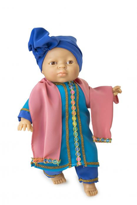Papusa baietel Kamran, colectia Educativa Friends of the World, Berjuan luxury dolls [0]