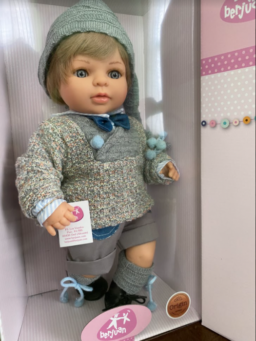 Papusa baietel Mauro Paul, colectia Boutique, Berjuan handmade luxury dolls 1