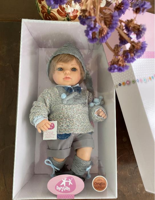 Papusa baietel Mauro Paul, colectia Boutique, Berjuan handmade luxury dolls 2