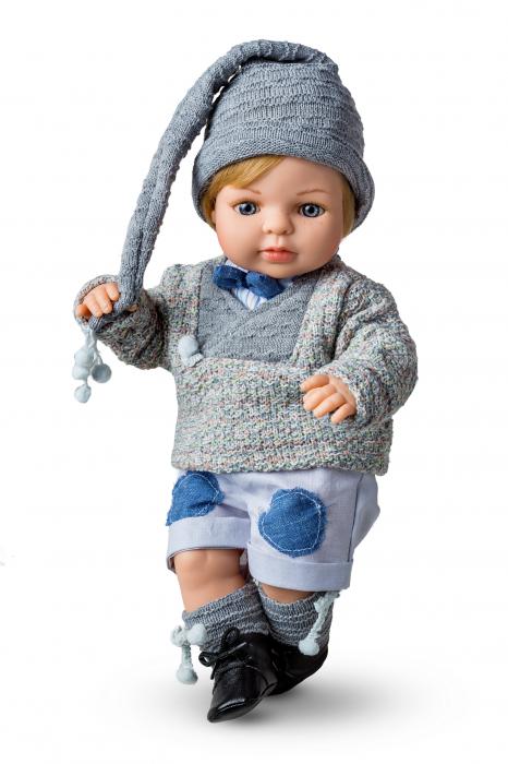 Papusa baietel Mauro Paul, colectia Boutique, Berjuan handmade luxury dolls 0